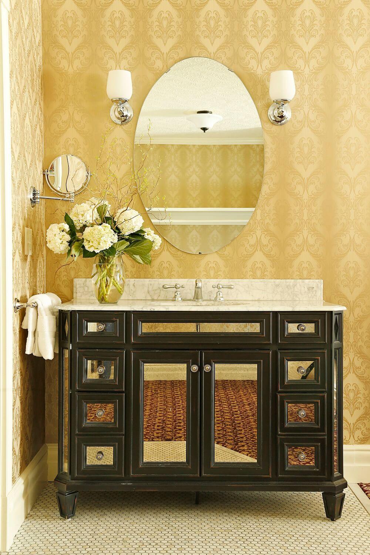 66- sink in bathroom