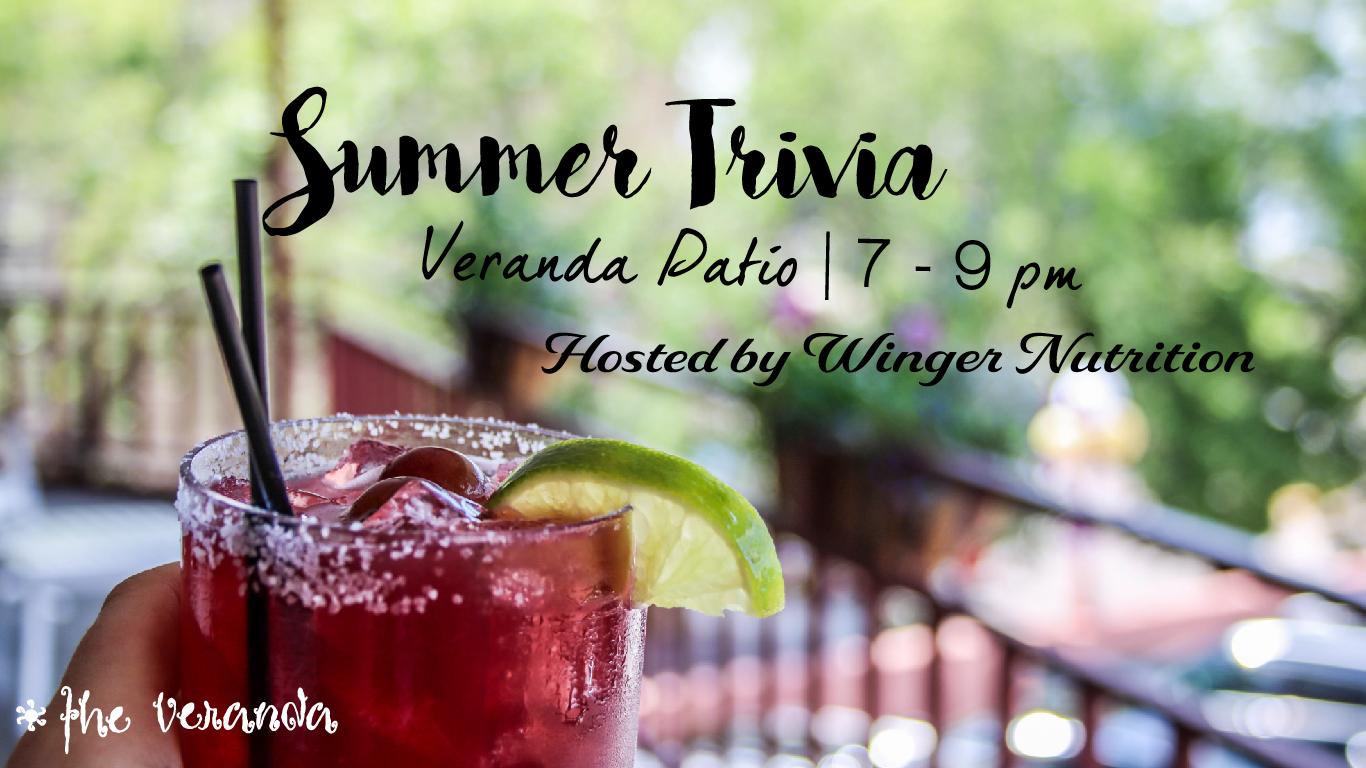 summer drink for summer trivia night