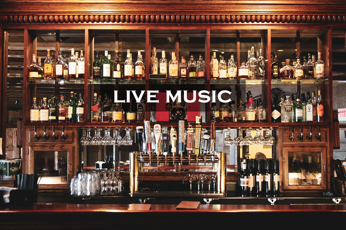 live music and bar