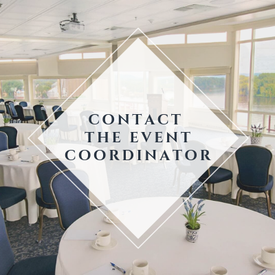 contact the event coordinator