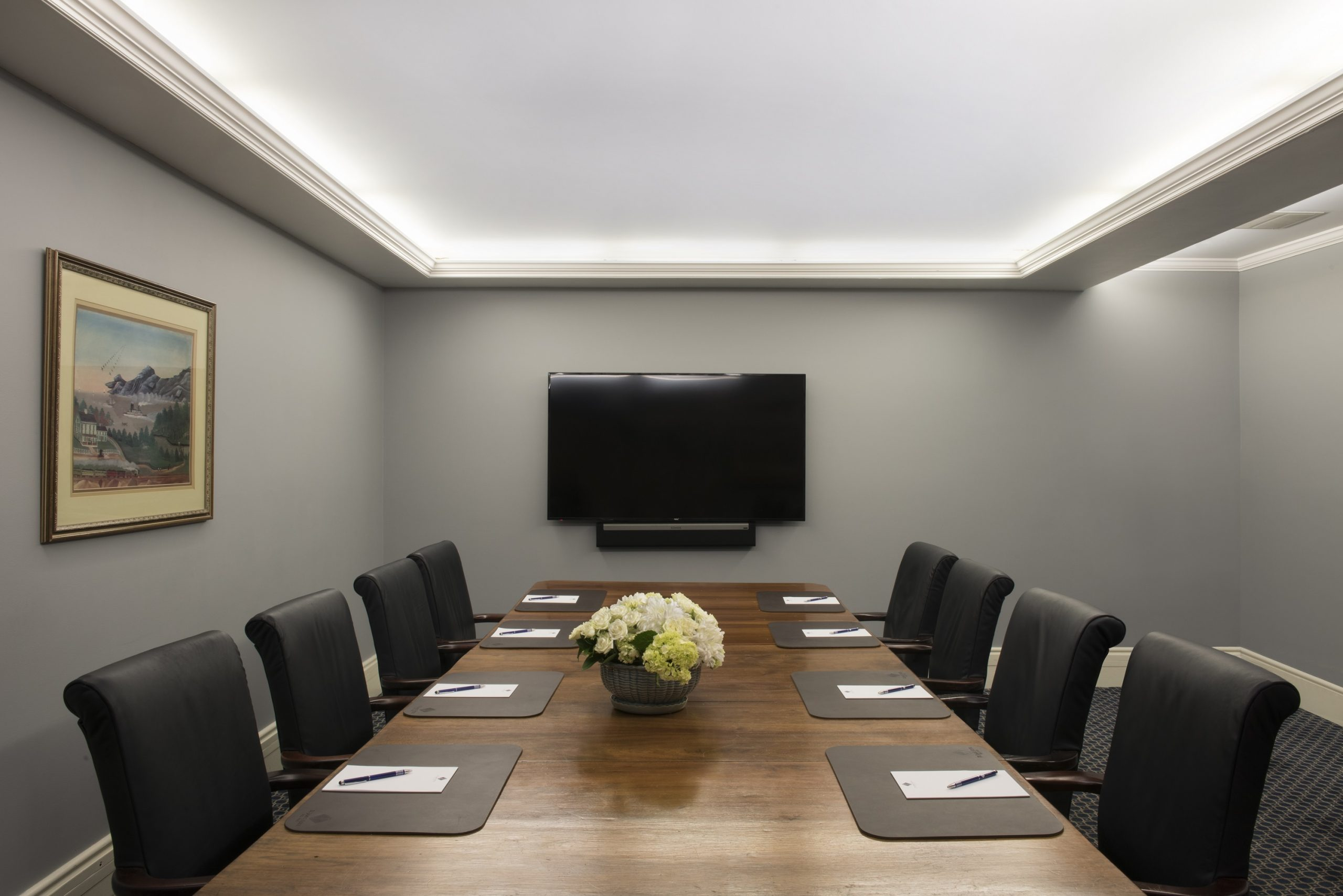 Boardroom at the St. James Hotel