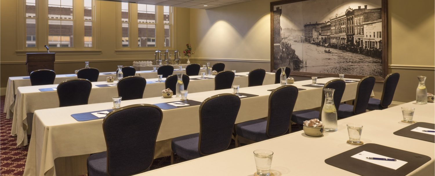 Mainstreeter Meeting Room at the St. James Hotel